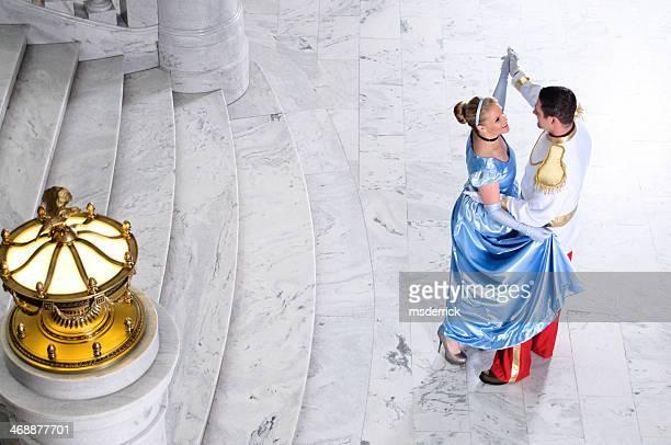 Cinderella und Märchenprinzen
