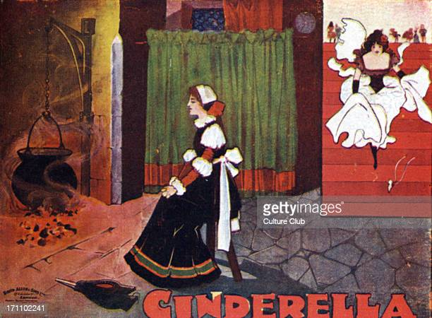 Cinderella by the fire cinders in the kitchen Based on the fairy tale by Jakob Wilhelm Grimm London D Allen Sons