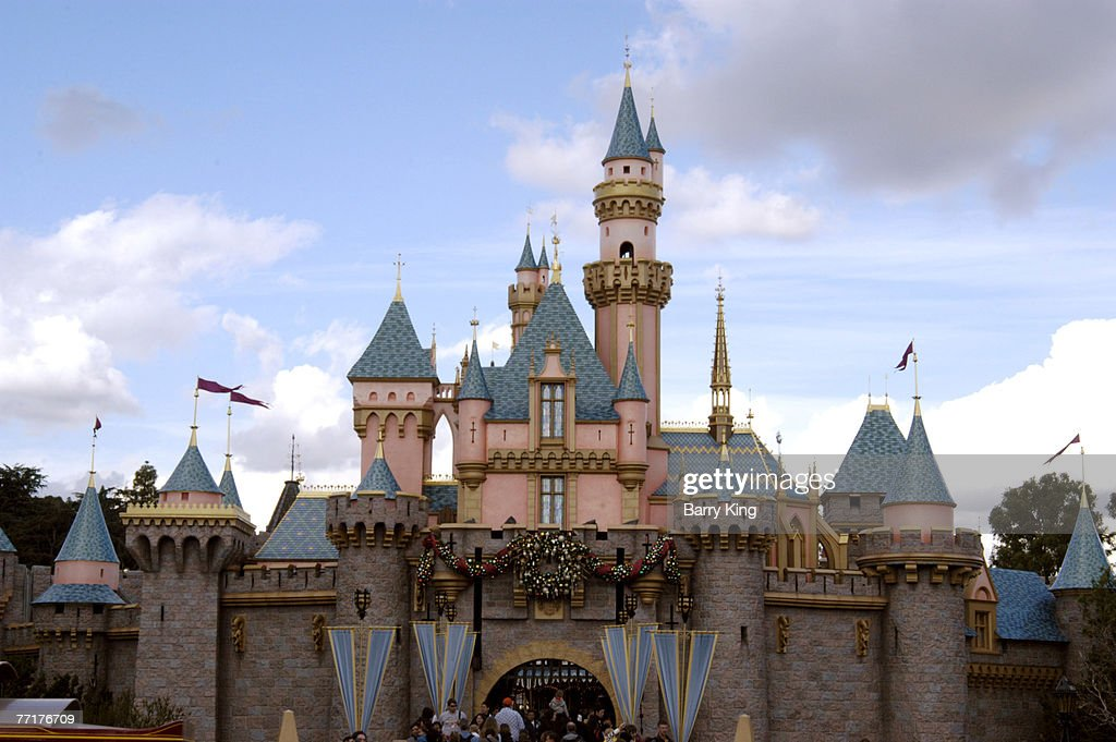 Cinderella's Castle at Disneyland Resort