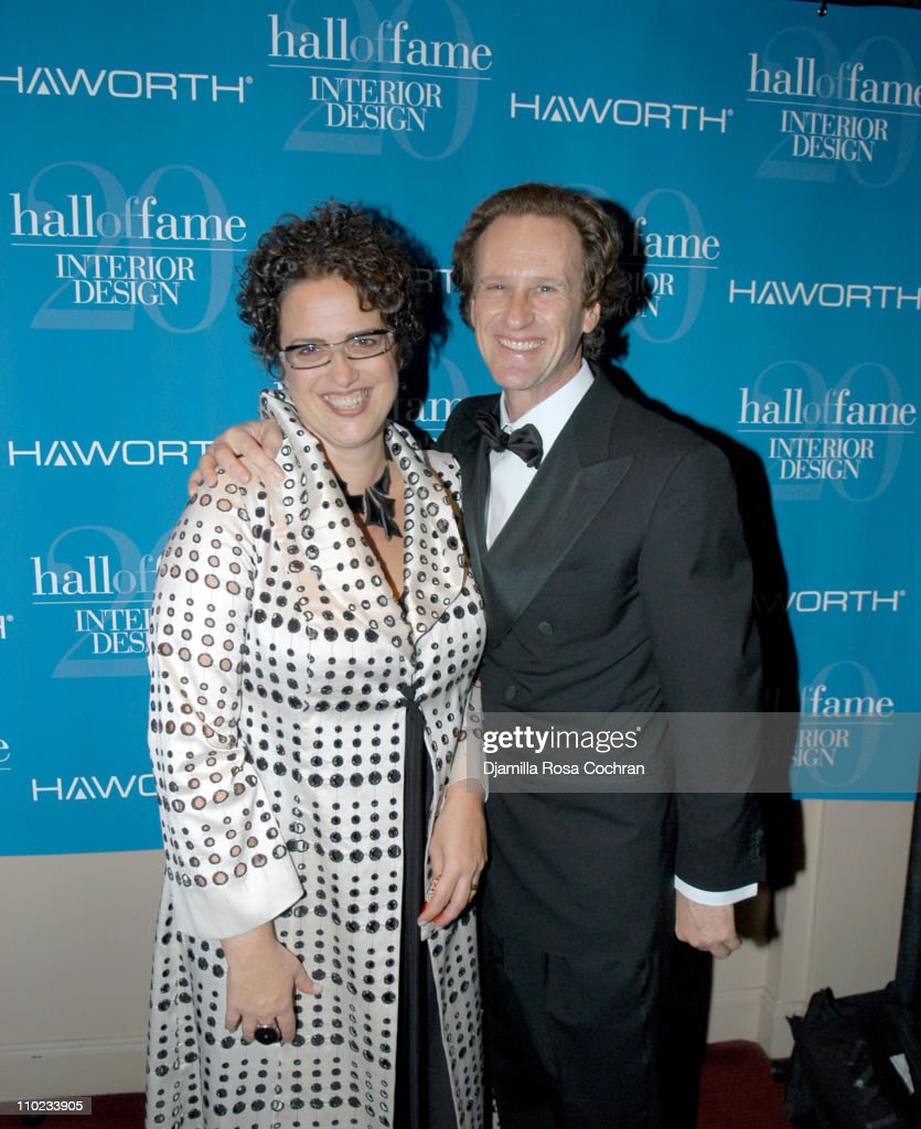 Cindy Allen And Matteo Thun During Interior Design Magazine Hall Of Fame At Waldorf Astoria Hotel