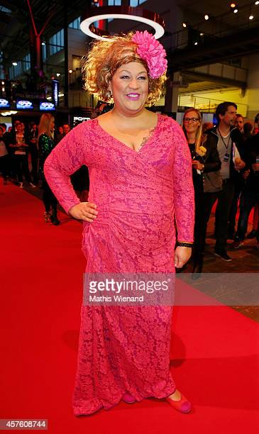 Cindy aus Marzahn attends the 18th Annual German Comedy Awards at Coloneum on October 21 2014 in Cologne Germany The show will be aired on RTL on...