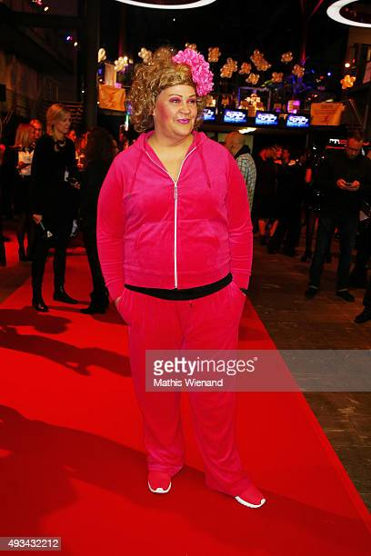 Cindy aus Marzahn attends the 19th Annual German Comedy Awards at Coloneum on October 20 2015 in Cologne Germany