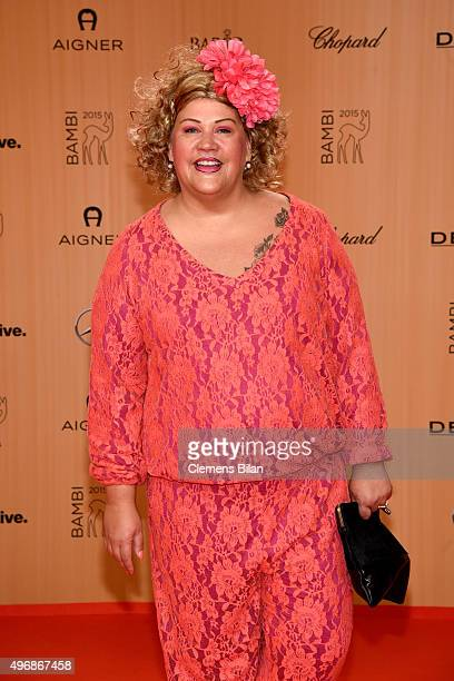 Cindy aus Marzahn attends the Bambi Awards 2015 at Stage Theater on November 12 2015 in Berlin Germany