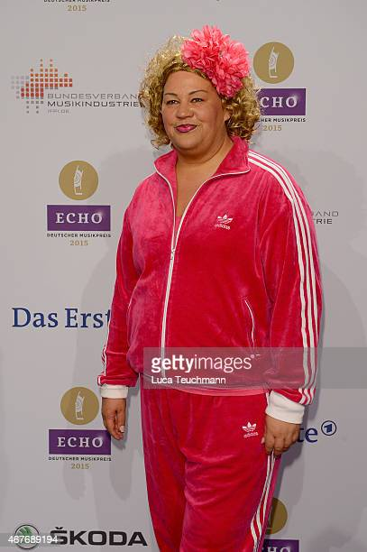 Cindy aus Marzahn attends the Echo Award 2015 Red Carpet Arrivals on March 26 2015 in Berlin Germany