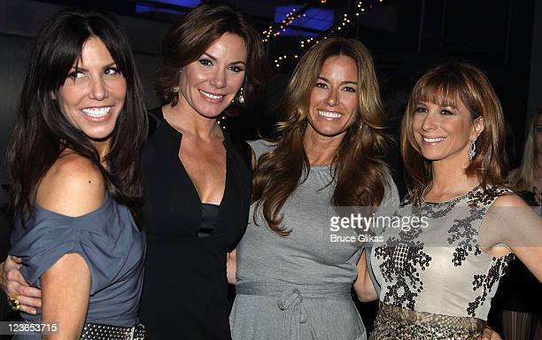 Cindy Barshop Countess LuAnn de Lesseps Kelly Bensimon and Jill Zarin attend Victoria de Lesseps' 16th Birthday Party at Arena on December 11 2010 in...