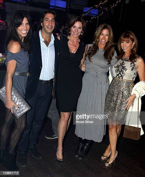 Cindy Barshop Jacques Azoulay girlfriend Countess LuAnn de Lesseps Kelly Bensimon and Jill Zarin attend Victoria de Lesseps' 16th Birthday Party at...