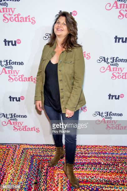 Cindy Caponera attends 'At Home With Amy Sedaris' New York Screening at The Bowery Hotel on October 19 2017 in New York City