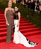 Cindy Chao and Gemma Ward attend the 'China Through The Looking Glass' Costume Institute Benefit Gala at the Metropolitan Museum of Art on May 4 2015...
