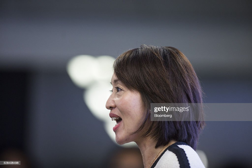 Cindy Chow, executive director of Alibaba Group Holding Ltd.'s Hong Kong Entrepreneurs Fund, speaks during a news conference in Hong Kong, China, on Thursday, May 5, 2016. Alibaba's HK$1 billion fund for Hong Kong entrepreneurs is investing in GoGoVan, a hauling and delivery service that's one of the city's biggest startups, and other online services. Photographer: Justin Chin/Bloomberg via Getty Images