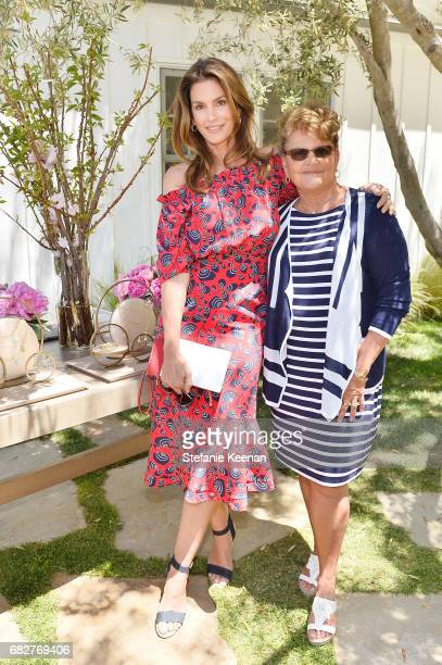 Cindy Crawford and Gina Guangco attend Cindy Crawford and Kaia Gerber host Best Buddies Mother's Day Brunch in Malibu CA sponsored by David Yurman on...