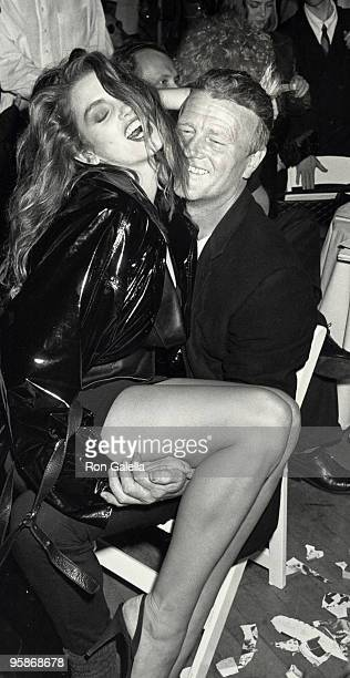 Cindy Crawford and guest