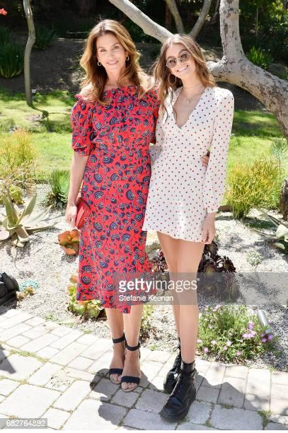 Cindy Crawford and Kaia Gerber attend Cindy Crawford and Kaia Gerber host Best Buddies Mother's Day Brunch in Malibu CA sponsored by David Yurman on...