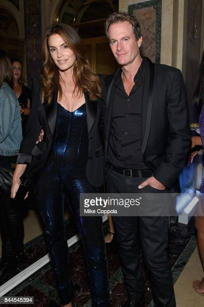 Cindy Crawford and Rande Gerber attends Harper's BAZAAR Celebration of 'ICONS By Carine Roitfeld' at The Plaza Hotel presented by Infor Laura Mercier...