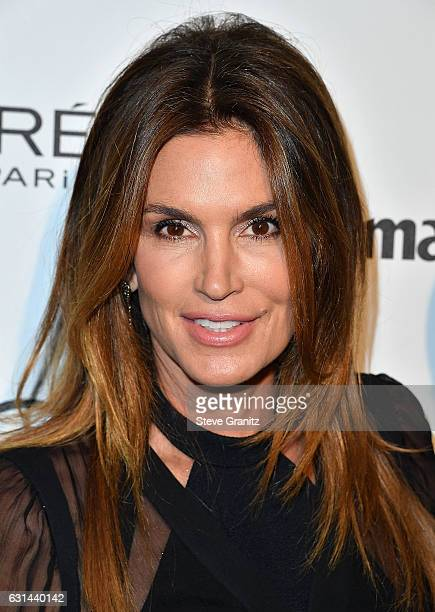 Cindy Crawford arrives at the Marie Claire's Image Maker Awards 2017 on January 10 2017 in West Hollywood California