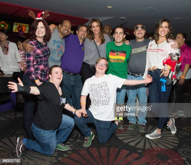 Cindy Crawford attends Bowling For Buddies at PINZ Bowling Entertainment Center on December 10 2017 in Studio City California