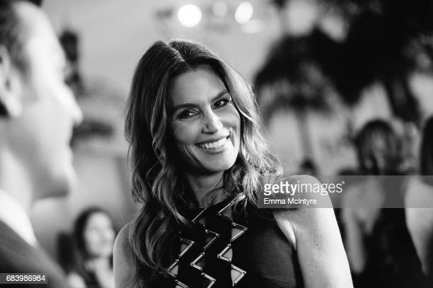 Cindy Crawford attends Cindy Crawford and Eduardo Cosentino's New Design Alliance and launch of Silestone's latest collection 'Eternal Beauty and...