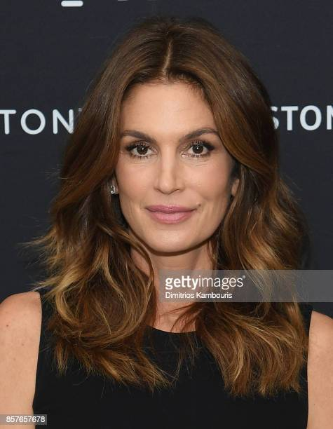 Cindy Crawford attends Cindy Crawford Talking Top Design at Cosentino City Manhattan on October 4 2017 in New York City