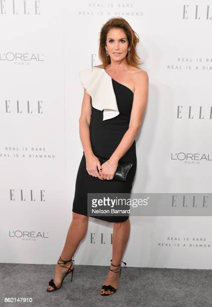 Cindy Crawford attends ELLE's 24th Annual Women in Hollywood Celebration presented by L'Oreal Paris Real Is Rare Real Is A Diamond and CALVIN KLEIN...