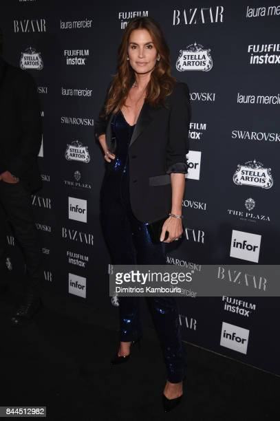 Cindy Crawford attends Harper's BAZAAR Celebration of 'ICONS By Carine Roitfeld' at The Plaza Hotel presented by Infor Laura Mercier Stella Artois...