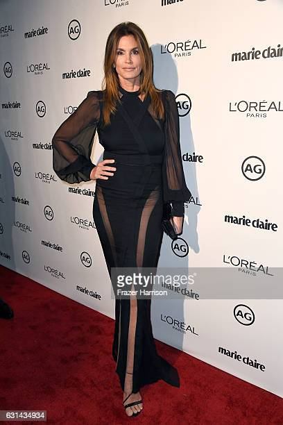 Cindy Crawford attends Marie Claire's Image Maker Awards 2017 at Catch LA on January 10 2017 in West Hollywood California