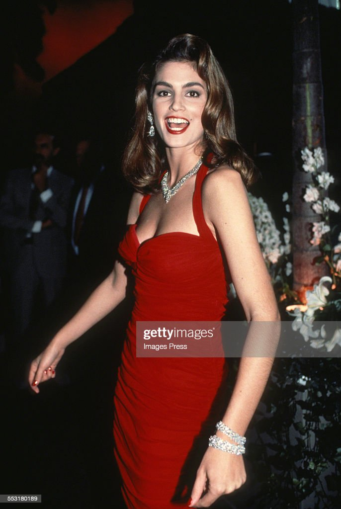 Cindy Crawford circa 1990 in New York City