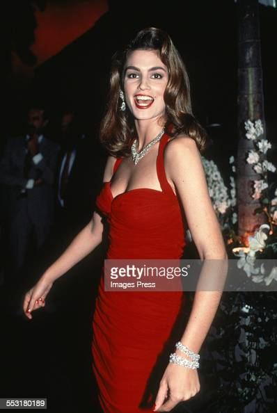 Cindy Crawford circa 1990 in New York City