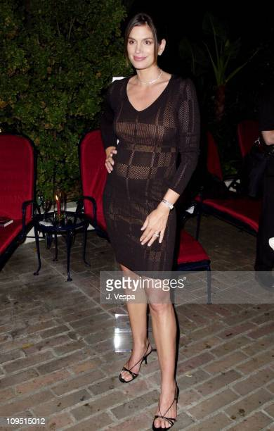 Cindy Crawford during OMEGA Cindy Crawford Host a glamourous evening soiree with the elegance style reminiscent of Old Hollywood at Chateau Marmont...