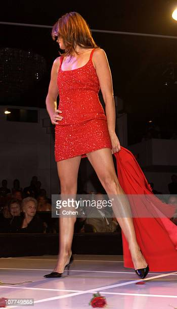 Cindy Crawford during St Jude Runway For Life at Beverly Hilton in Los Angeles California United States