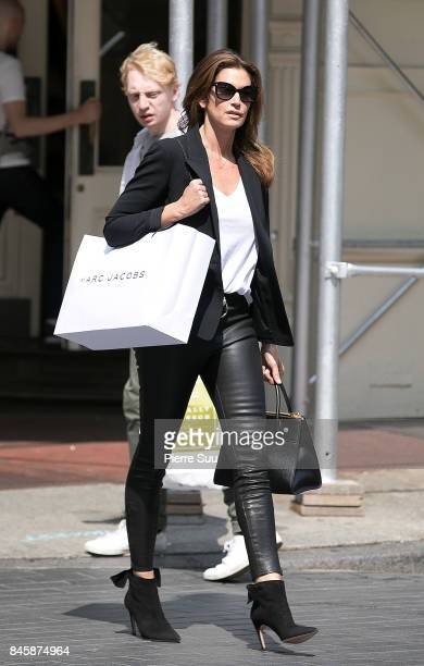 Cindy Crawford is seen in Soho on September 11 2017 in New York City