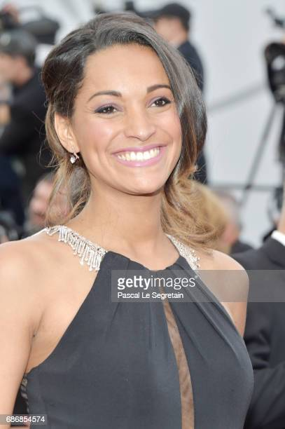 Cindy Fabre attends 'The Killing Of A Sacred Deer' premiere during the 70th annual Cannes Film Festival at Palais des Festivals on May 22 2017 in...