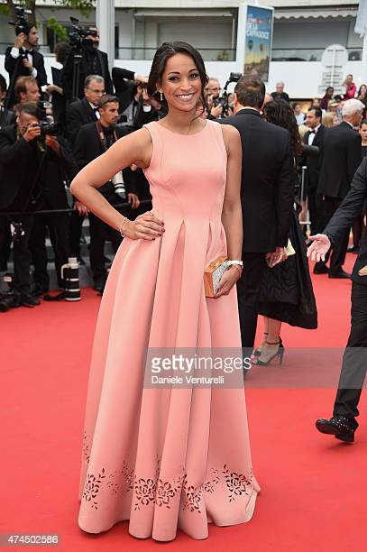 Cindy Fabre attends the 'Macbeth' Premiere during the 68th annual Cannes Film Festival on May 23 2015 in Cannes France