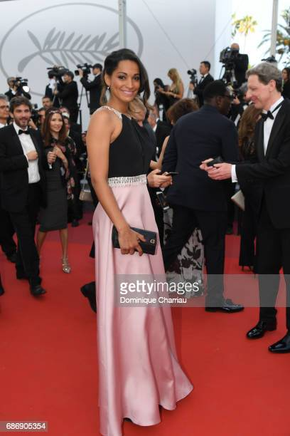 Cindy Fabre attends the 'The Killing Of A Sacred Deer' screening during the 70th annual Cannes Film Festival at Palais des Festivals on May 22 2017...