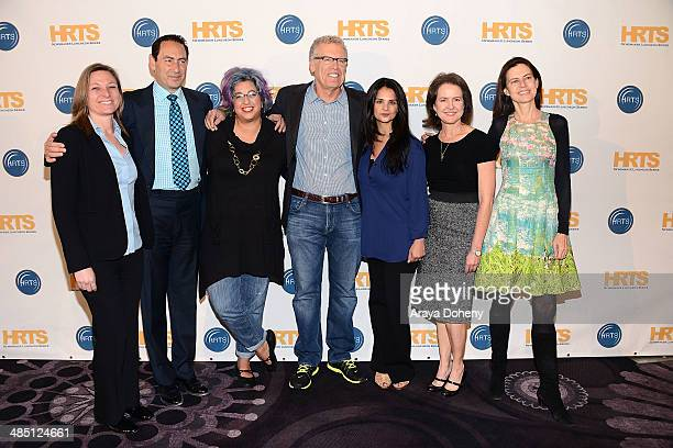 Cindy Holland Adam Berkowitz Jenji Kohan Carlton Cuse Bela Bajaria Michelle Ashford and Sarah Timberman attend The Hollywood Radio and Television...