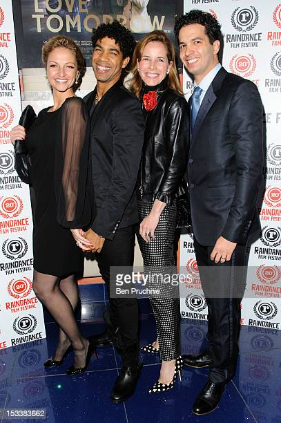 Cindy Jourdain Carlos Acosta Darcey Bussell and Arionel Vargas attend the Raindance Film Festival screening of 'Love Tomorrow' at Apollo Piccadilly...