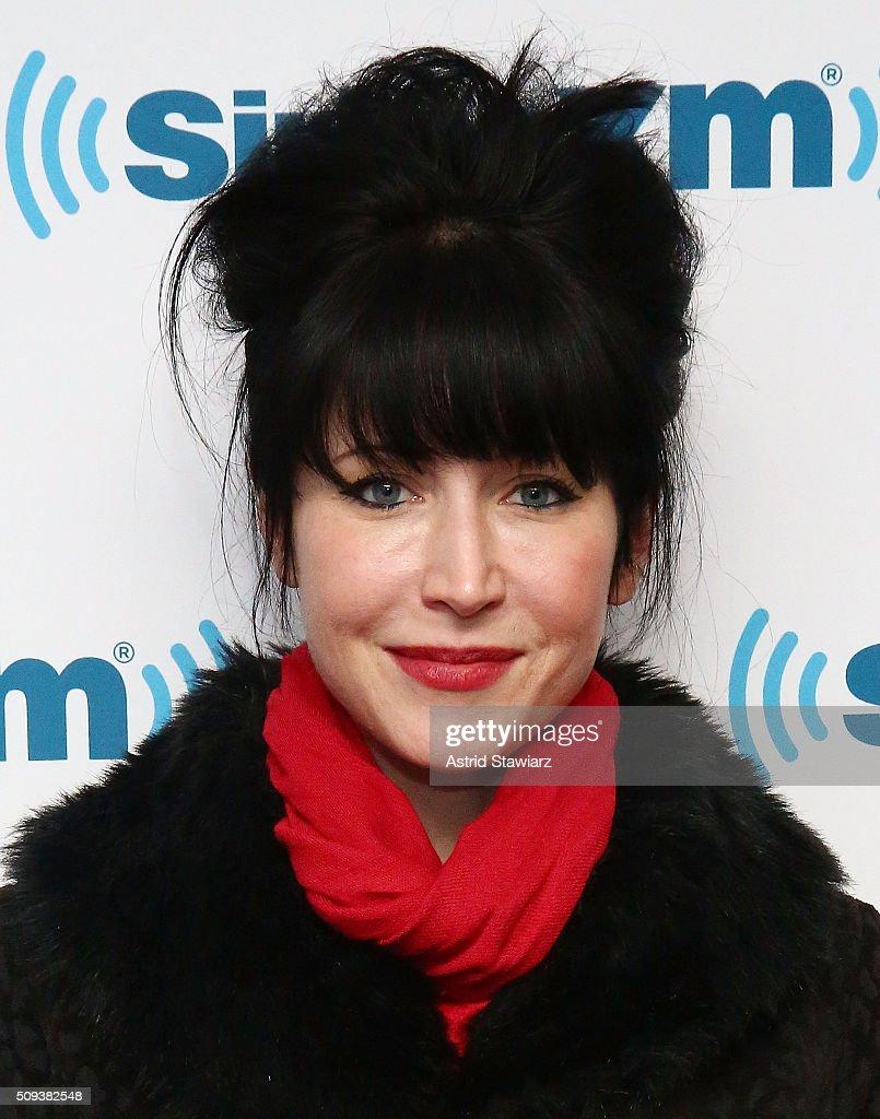 Cindy Kaza visits the SiriusXM Studios on February 10, 2016 in New York City.