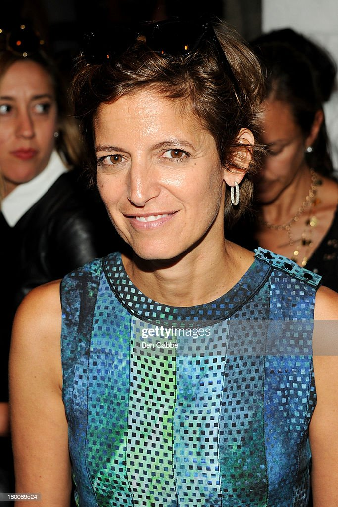 Cindy Levy attends Band Of Outsiders Women's during Mercedes-Benz Fashion Week Spring 2014 on September 8, 2013 in New York City.