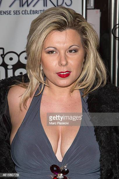 Cindy Lopes attends the Lauriers TV Awards 2014 at La Cigale on January 9 2014 in Paris France