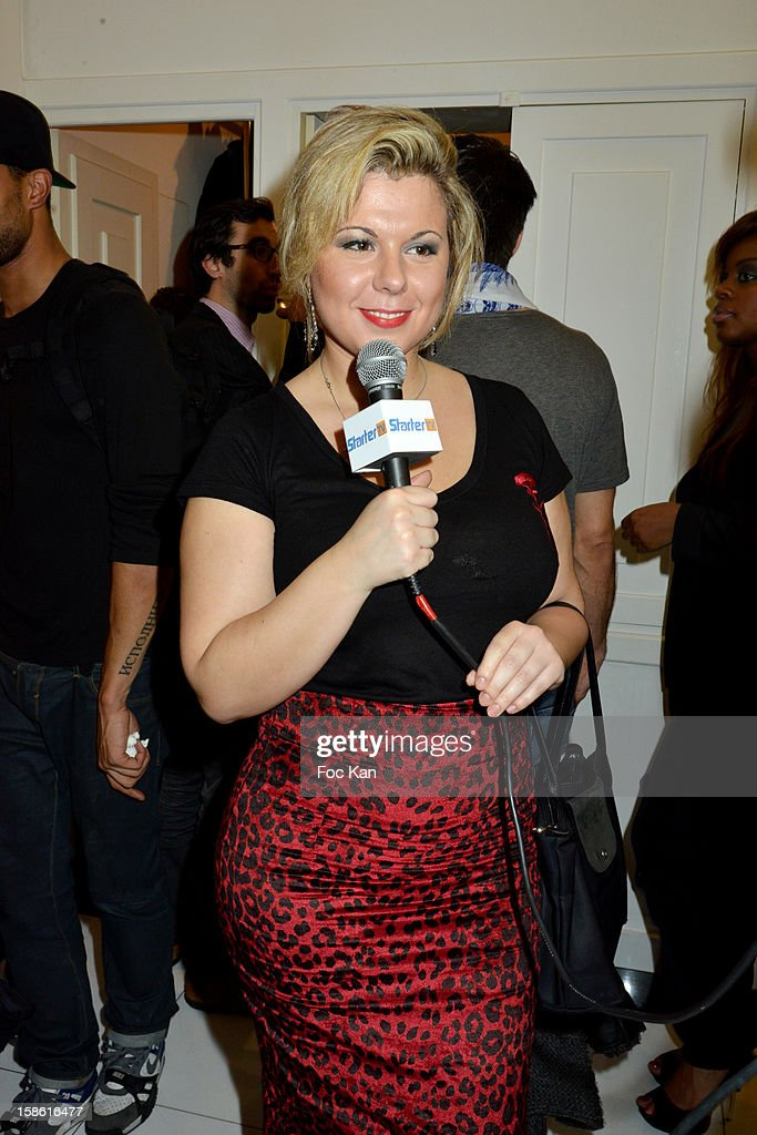 Cindy Lopes attends the 'Starter TV' Launch Party at Espace Brey on December 20, 2012 in Paris, France.