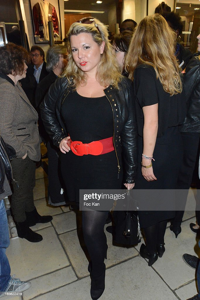 Cindy Lopes from Les Anges de La Tele Realite 6 attends the 'Renoma 50th Anniversary' at Renoma Store Rue de La Pompe on October 22, 2013 in Paris, France.