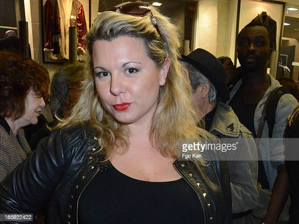 Cindy Lopes from Les Anges de La Tele Realite 6 attends the 'Renoma 50th Anniversary' at Renoma Store Rue de La Pompe on October 22 2013 in Paris...