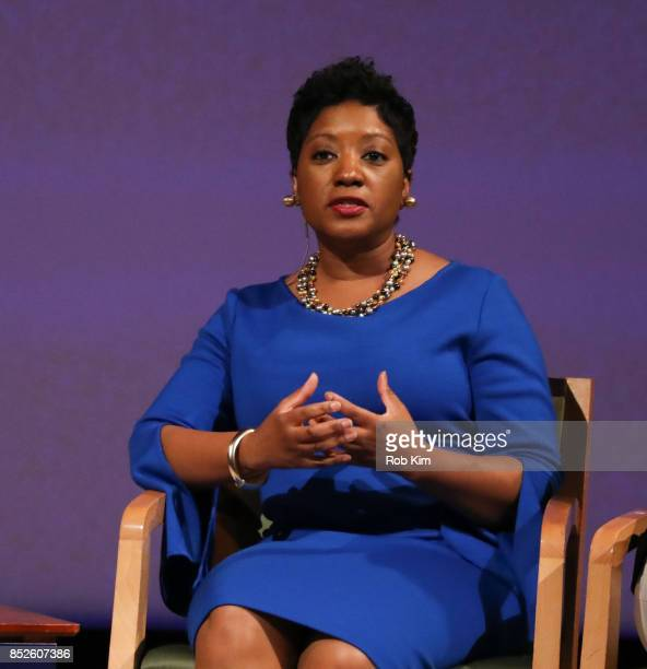 Cindy Pace Assistant Vice President Global Diversity Inclusion MetLife attends Fast Forward Women's Innovation Forum at The Metropolitan Museum of...