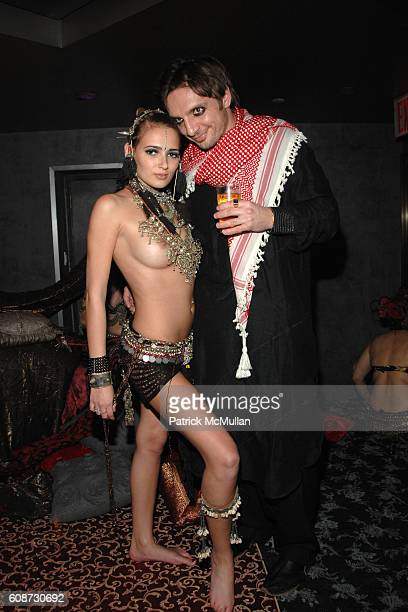 Cindy Saz and attend MARC JACOBS 2007 Holiday Party Arabian Nights Masquerade Ball at Rainbow Room on December 12 2007 in New York City