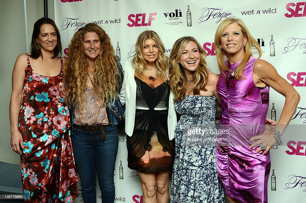 Cindy Searight, Evyan Metzner, singer Fergie, Laura Brounstein, and SELF Editor-in-Chief <a gi-track='captionPersonalityLinkClicked' href=/galleries/search?phrase=Lucy+Danziger&family=editorial&specificpeople=243083 ng-click='$event.stopPropagation()'>Lucy Danziger</a> attend SELF Magazine's July Issue Launch With Fergie on June 5, 2012 in New York, United States.