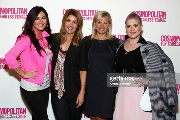 Cindy Whitehead Michele Promaulayko Gretchen Carlson and Kelly Osbourne attend the Cosmopolitan Let's Talk About It Event on June 24 2017 in New York...
