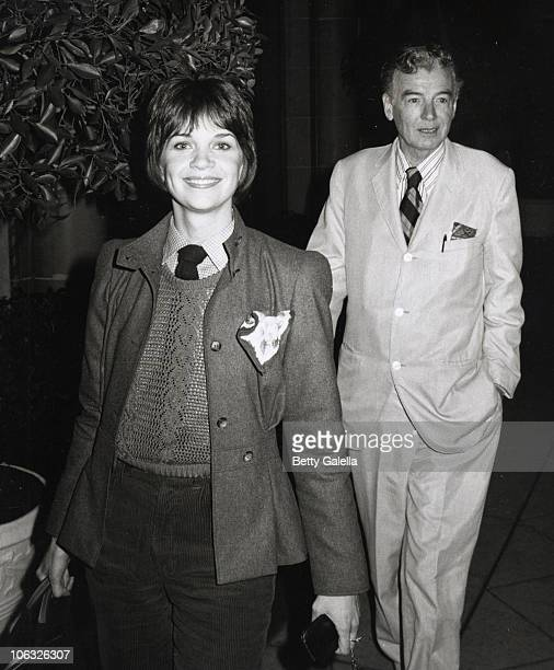 Cindy Williams and guest during Cindy Williams Sighted at Beverly Wilshire Hotel at Beverly Wilshire Hotel in Beverly Hills California United States