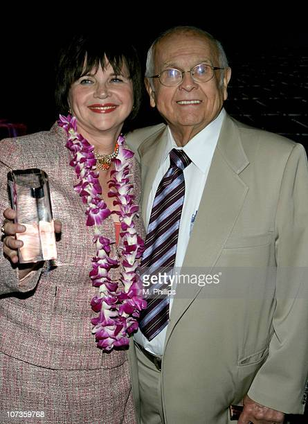 Cindy Williams and Johnny Grant Honorary Mayor of Hollywood