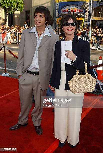 Cindy Williams Son during World Premiere of 'Lara Croft Tomb Raider The Cradle Of Life' at Mann's Chinese Theatre in Hollywood California United...
