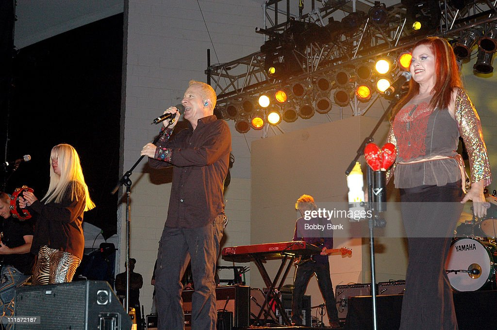 Cindy Wilson Fred Schneider Kate Pierson of The B52's