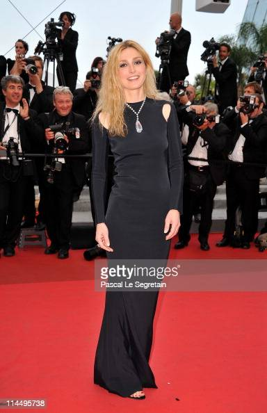 Cinefoundation Jury member Julie Gayet attends the 'Les BienAimes' premiere at the Palais des Festivals during the 64th Cannes Film Festival on May...
