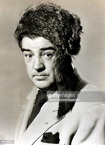 Cinema American comedy actor Lou Costello pictured in a still from the film ' Comin Round The Mountain' 1951
